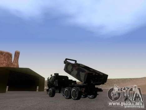 M142 HIMARS Artillery para GTA San Andreas left