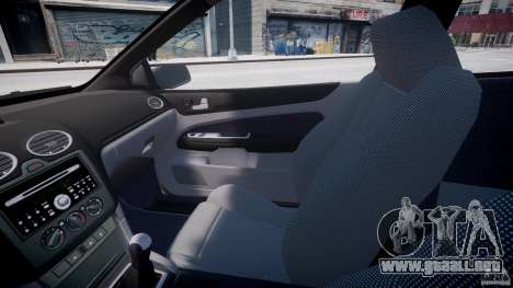 Ford Focus ST (X-tuning) para GTA 4 vista interior