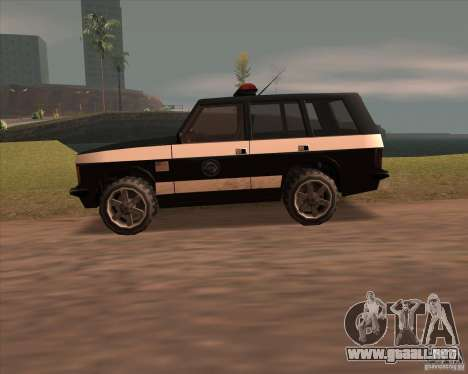 Huntley Police Patrol para GTA San Andreas left