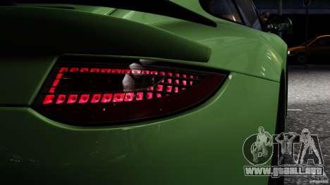 RUF RGT-8 2011 para GTA 4 Vista posterior izquierda