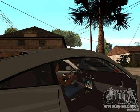 Audi TTS Coupe V1.1 para la visión correcta GTA San Andreas