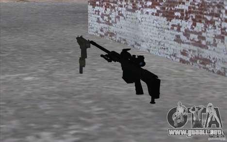 M98B para GTA San Andreas segunda pantalla