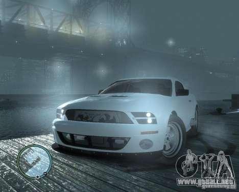 Ford Mustang GT para GTA 4 visión correcta