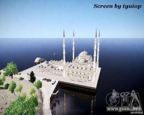 Chechen Mod v1.0 para GTA 4 adelante de pantalla