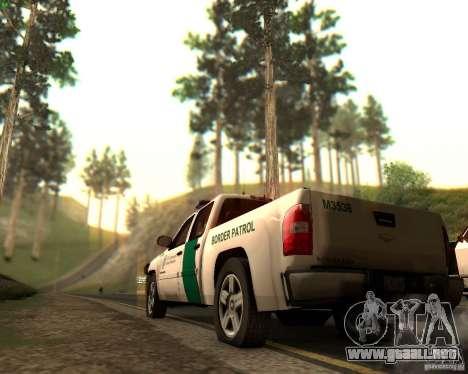 Chevrolet Silverado Police para el motor de GTA San Andreas