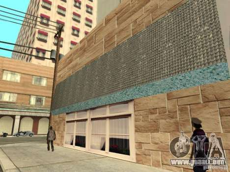 Nuevo Burgershot: ČajničeG oro para GTA San Andreas quinta pantalla
