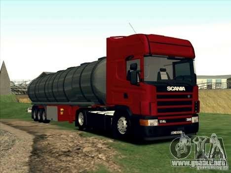 Scania 114L para GTA San Andreas