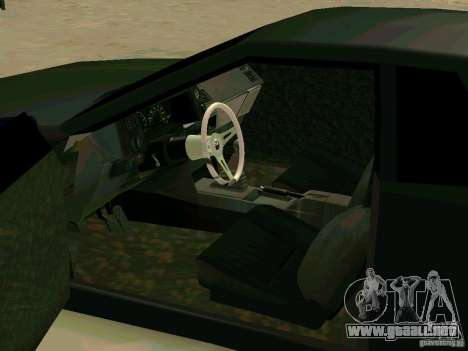 New Elegy para visión interna GTA San Andreas
