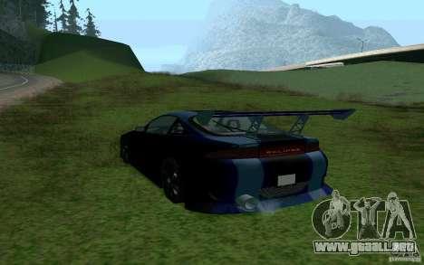 Mitsubishi Eclipse 1999 Sport para GTA San Andreas left
