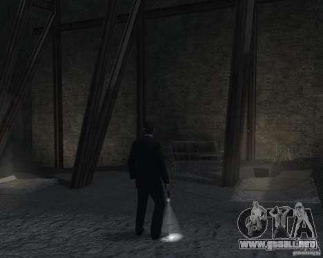 Flashlight for Weapons v 2.0 para GTA 4 quinta pantalla