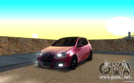 VolksWagen Golf GTI MK5 para GTA San Andreas