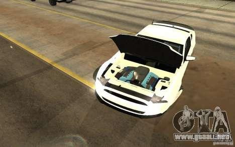 Shelby Mustang 1000 2012 para la visión correcta GTA San Andreas