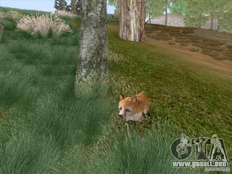 Wild Life Mod 0.1b para GTA San Andreas novena de pantalla