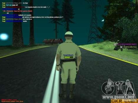 HQ texture for MP para GTA San Andreas sucesivamente de pantalla