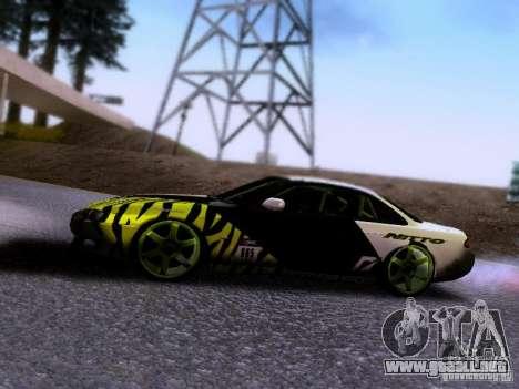 Nissan Silvia S14 Matt Powers v3 para GTA San Andreas vista hacia atrás