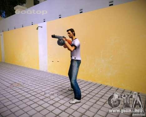 PPSH-41 para GTA Vice City sucesivamente de pantalla