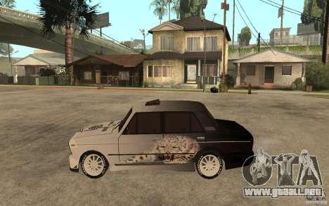 VAZ 2106 duro afinado para GTA San Andreas left