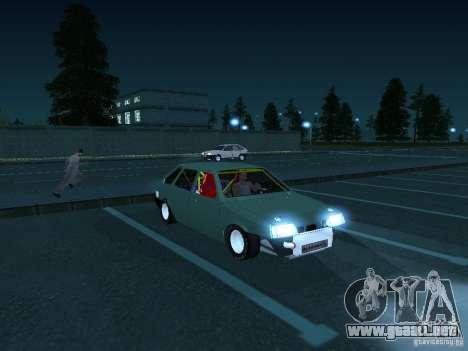 Arrastre VAZ 2109 para GTA San Andreas