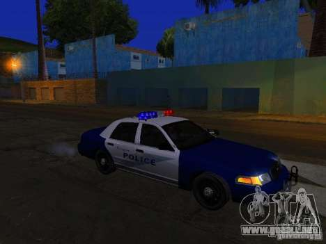 Ford Crown Victoria Belling State Washington para vista inferior GTA San Andreas