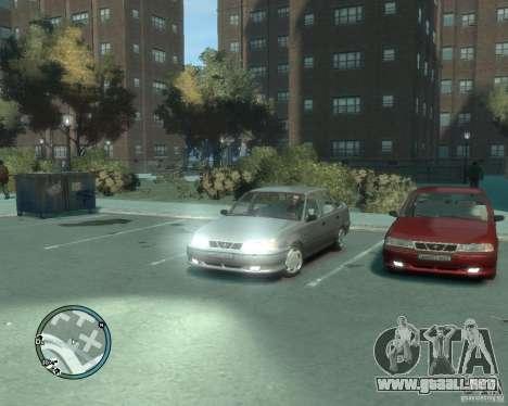 Daewoo Nexia DOHC para GTA 4 visión correcta