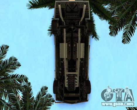 EON Stallion GT-A para visión interna GTA San Andreas
