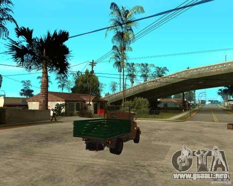 ZIL-433362 Extra Pack 1 para visión interna GTA San Andreas