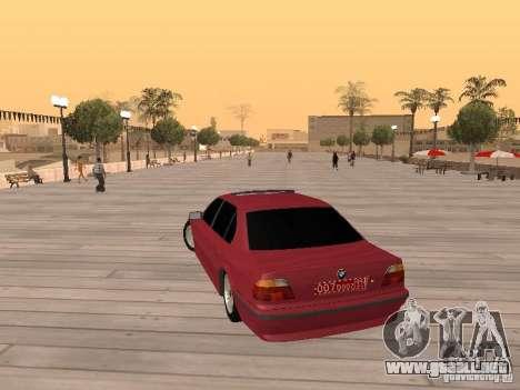 BMW 750iL e38 diplomático para GTA San Andreas left
