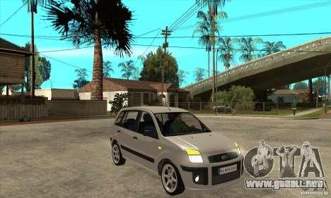Ford Fusion 2009 para GTA San Andreas vista hacia atrás