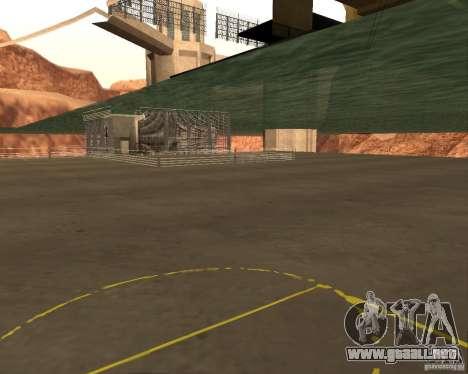 Base del dragón para GTA San Andreas sucesivamente de pantalla