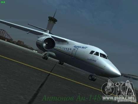 Antonov an-148 Aerosvit Ukrainian Airlines para GTA San Andreas