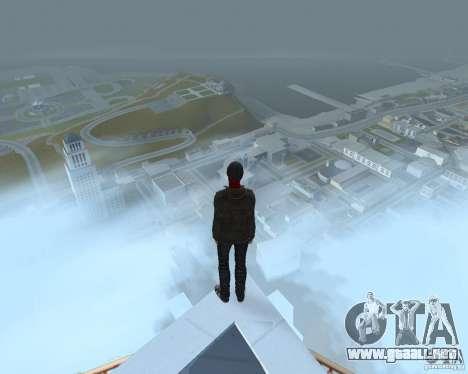 Spider Man para GTA San Andreas tercera pantalla