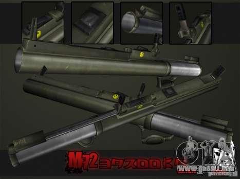 M72 LAW-Bazooka para GTA San Andreas