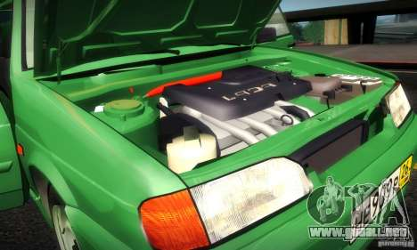 2113 VAZ Suite v.2.0 para vista lateral GTA San Andreas