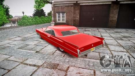 Cadillac De Ville v2 para GTA 4 Vista posterior izquierda