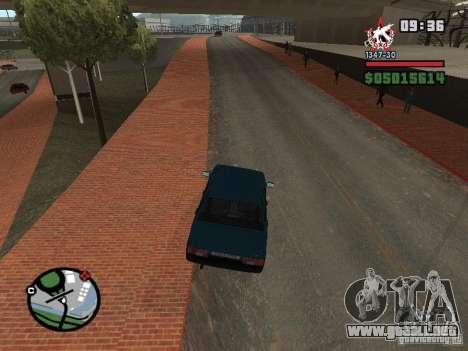 Todas Ruas v3.0 (San Fierro) para GTA San Andreas tercera pantalla