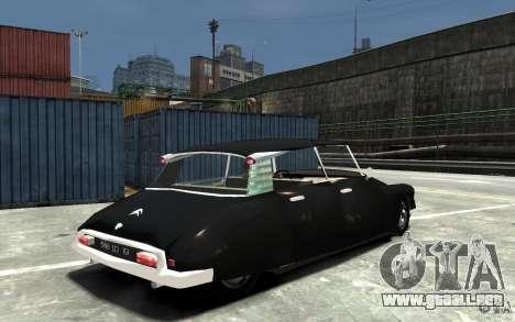 Citroen ID 19 para GTA 4 visión correcta