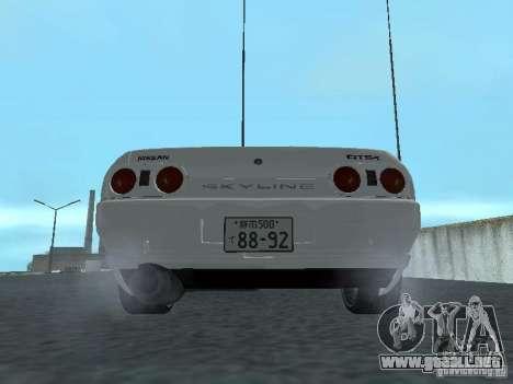 Nissan Skyline R32 Zenki para la visión correcta GTA San Andreas