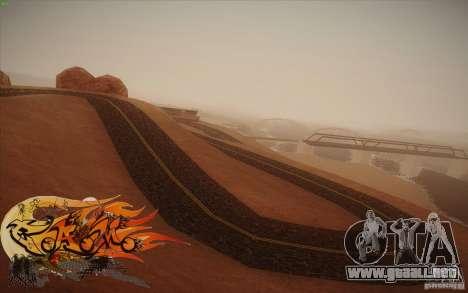 New Roads Las Venturas v1.0 para GTA San Andreas sexta pantalla