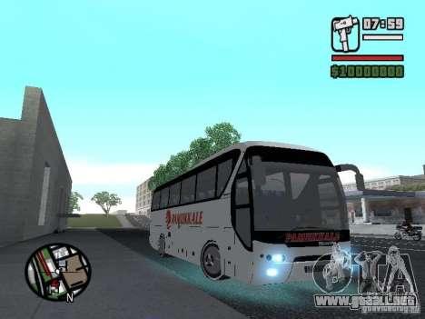 Neoplan Tourliner para la visión correcta GTA San Andreas