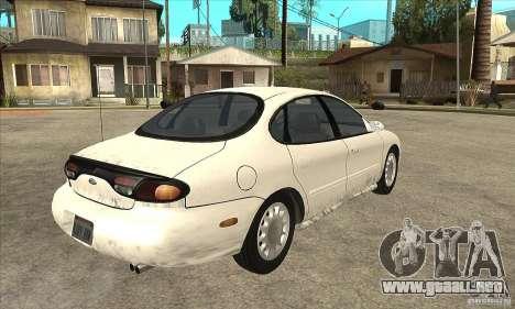 Ford Taurus 1996 para la visión correcta GTA San Andreas