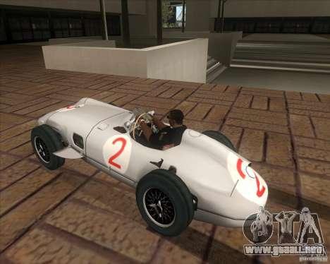 Daimler-Benz AG Juan Manuel Fangio para GTA San Andreas left