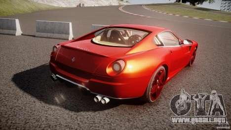 Ferrari 599 GTB Fiorano 2006 (Beta) para GTA 4 vista lateral