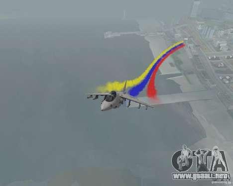 Multi color tiras para aeronaves para GTA San Andreas