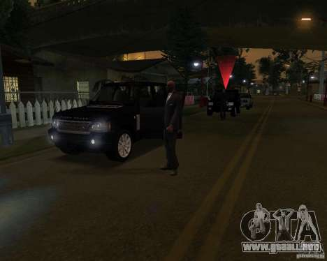 Protección en un jeep para GTA San Andreas
