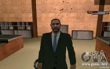 Mayor HD para GTA San Andreas quinta pantalla