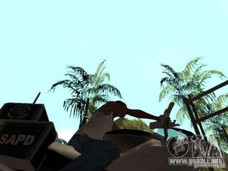 NRG-500 Police para visión interna GTA San Andreas