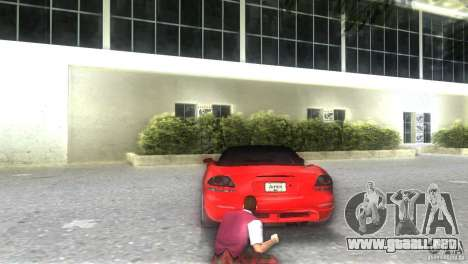 Dodge Viper SRT 10 Coupe para GTA Vice City left