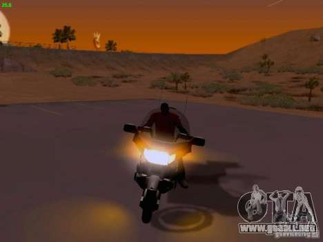 Honda Goldwing GL 1500 1990 g. para vista lateral GTA San Andreas
