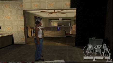 Compra de la propia base para GTA San Andreas quinta pantalla
