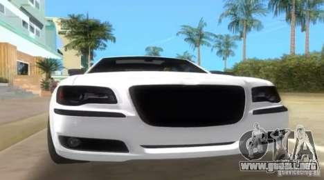 Chrysler 300C SRT V10 TT Black Revel 2011 para GTA Vice City visión correcta